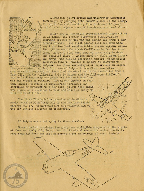 "Highlights from ""The History of the 318th Fighter Group"" - Page 10"