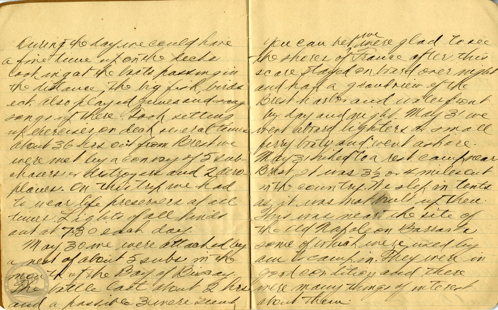 Life, Millard - WWI Diary #03