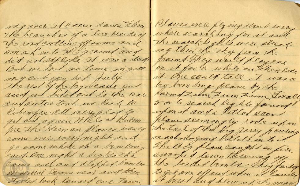 Life, Millard - WWI Diary #18