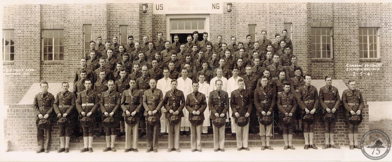 Company M, 116th Infantry Regiment, 29th Division - WWII Photo