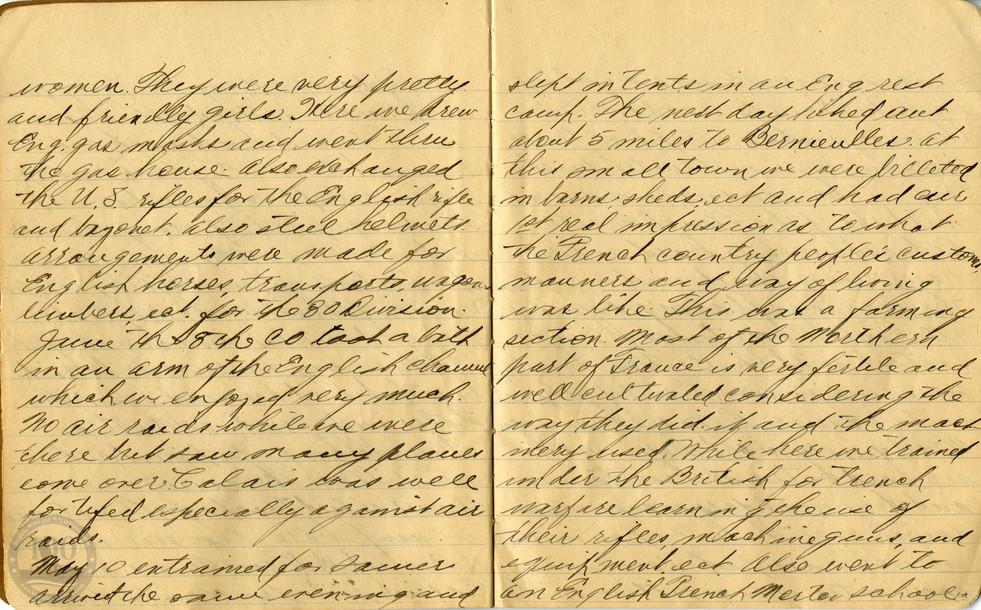 Life, Millard - WWI Diary #05