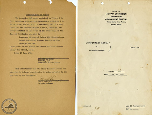 Manila War Crimes Trials - 6