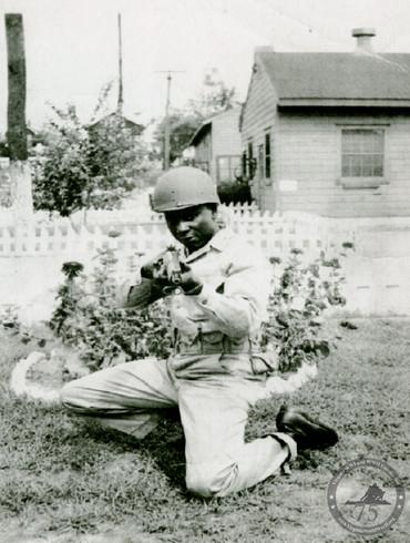 Davis, Cisco - WWII Photo