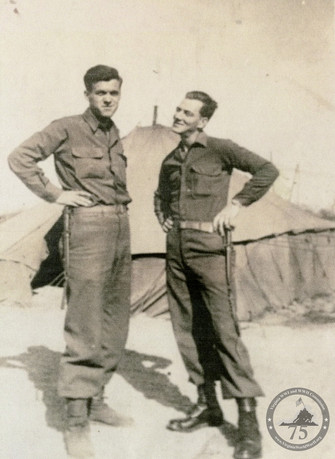 Fowlkes, Calvin Lee - WWII Photo