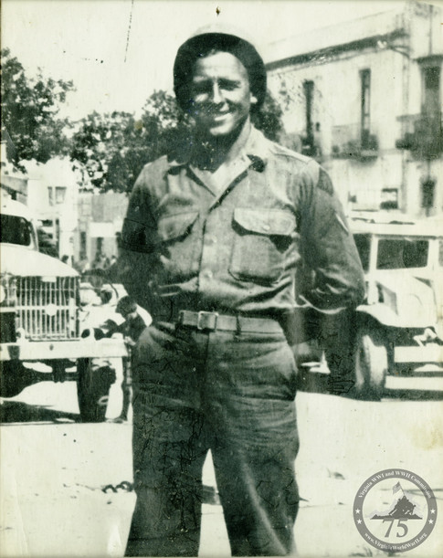 Keiser, Bernard - WWII Photo
