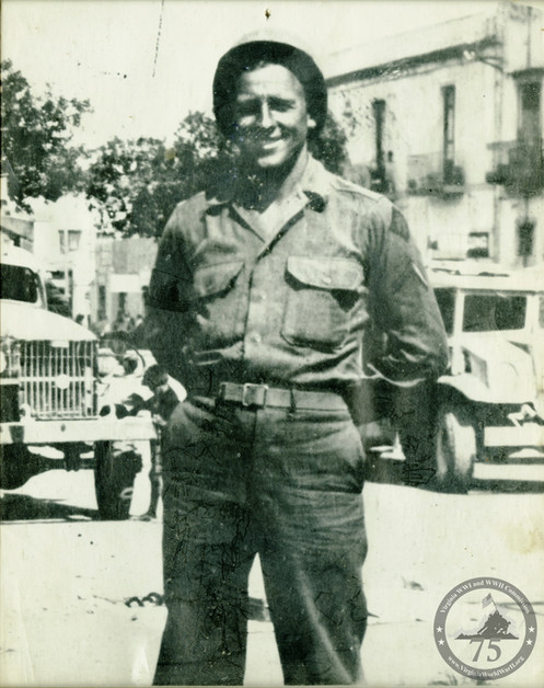 Keiser, Bernard - WWII Photo