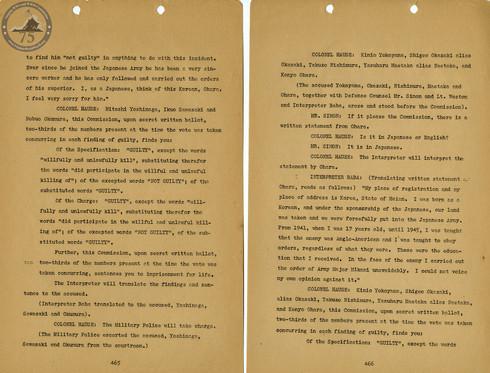 Manila War Crimes Trials - 4