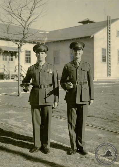 Dean, Joseph and Peter - WWII Photo