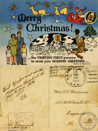 Newsome, Otis - WWII Letter