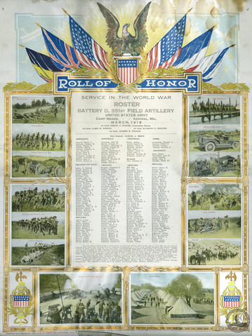 Fisher, Irving - WWI Document