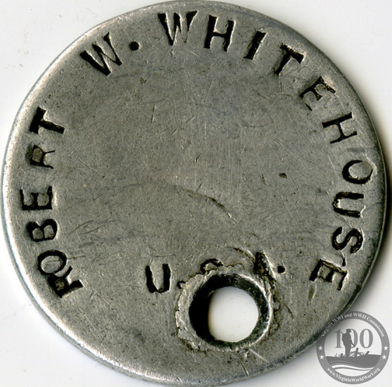 Whitehouse, Robert - WWI Item