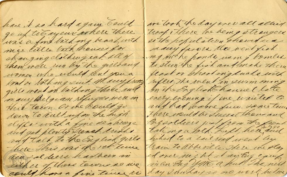 Life, Millard - WWI Diary #07