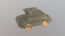 WWI Toy Tank (circa 1920s)