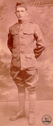 Burkhead, Junius - WWI Photo