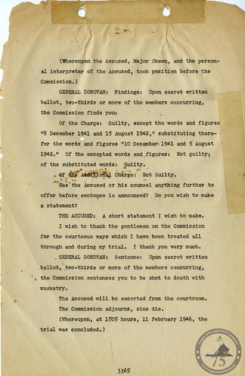 Manila War Crimes Trials - 8