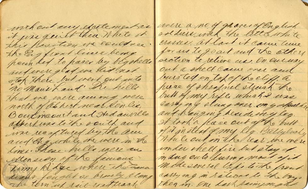 Life, Millard - WWI Diary #16