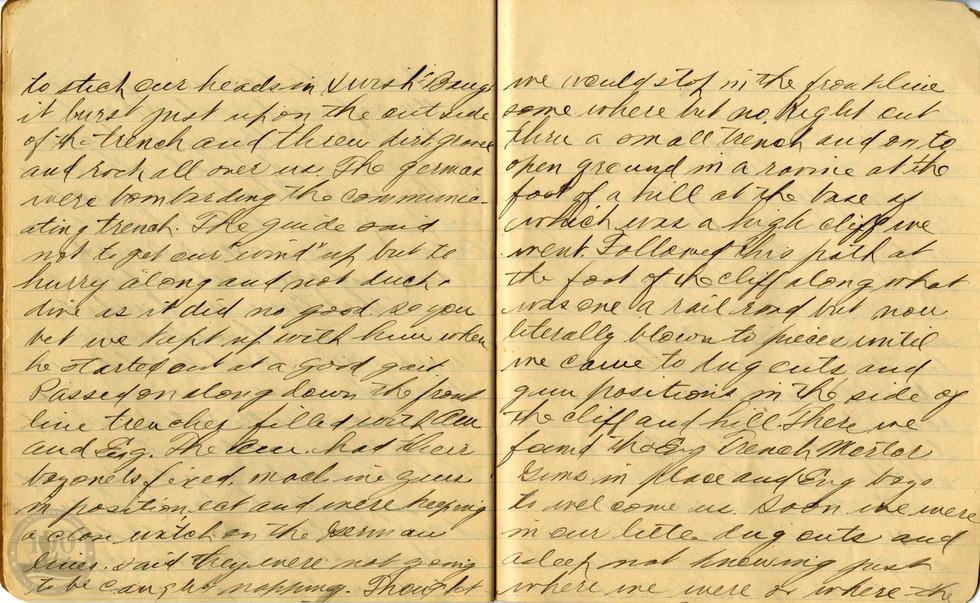 Life, Millard - WWI Diary #13