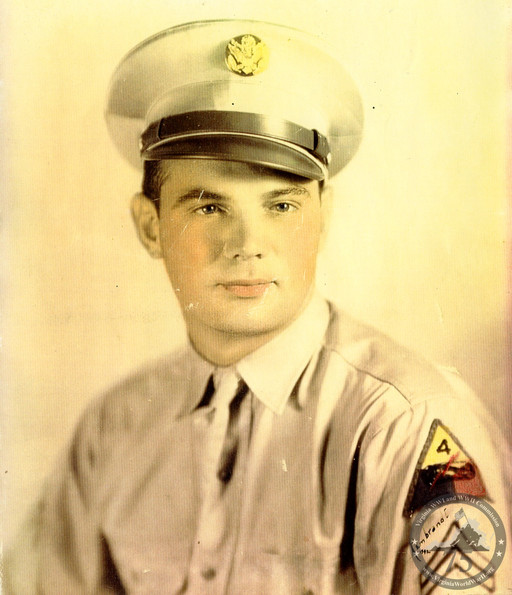 Hodges, Clinton R. - WWII Photo