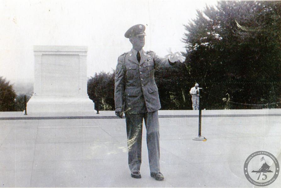 Daniel, William Edward - WWII Photo