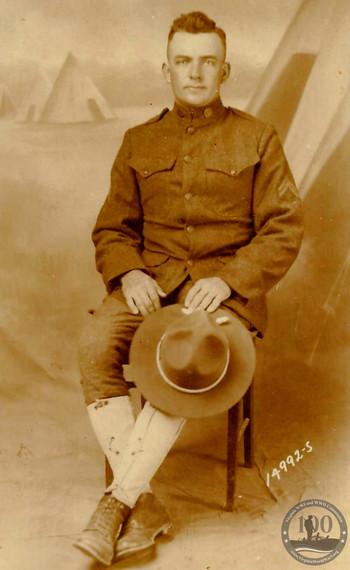 Fisher, Hugh - WWI Photo