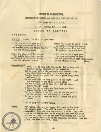 Loker, Otis M. - WWII Document