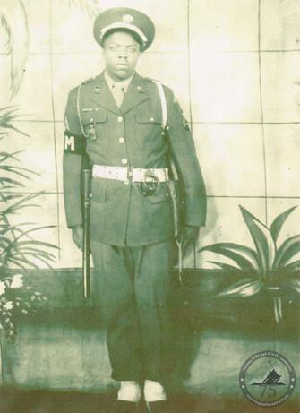 Brown, Blaine - WWII Photo