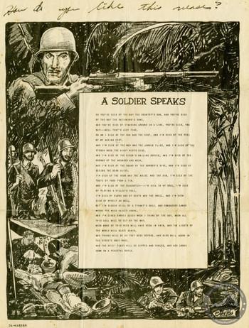 Pedersen, Peder B. - WWII Document