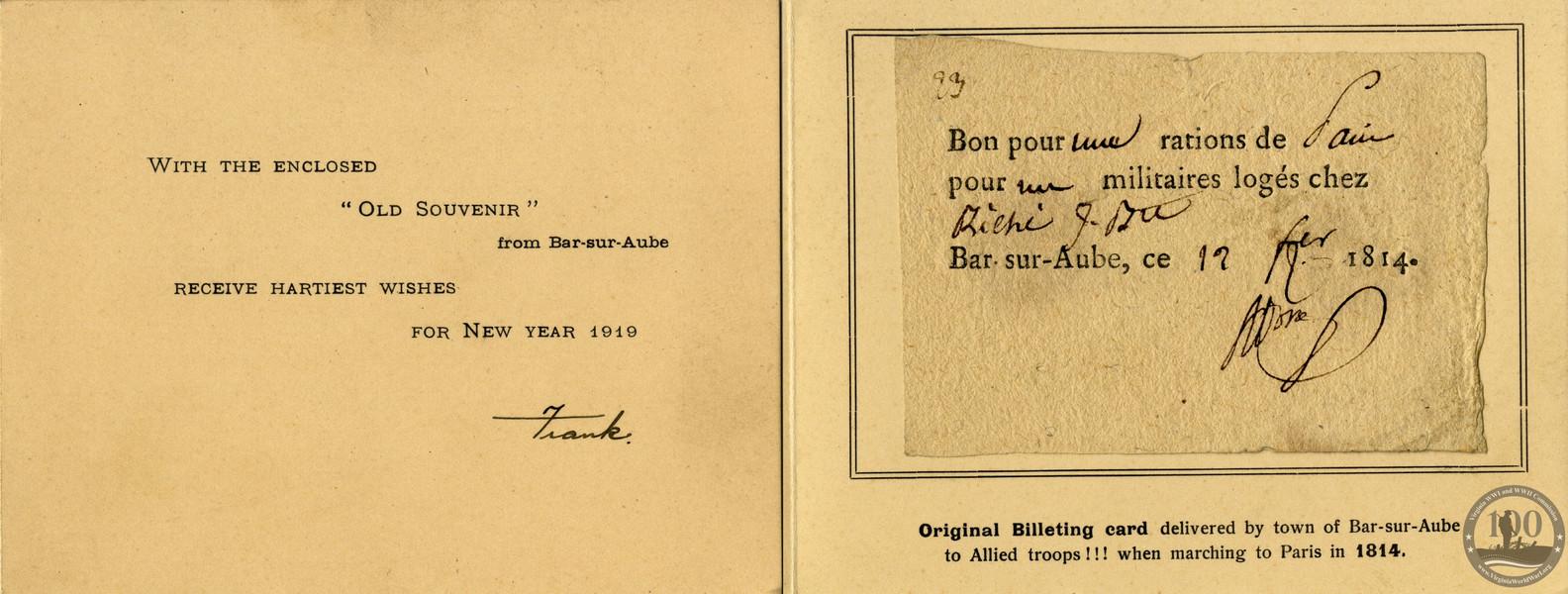 Brosch, Frank J. - WWI Docu