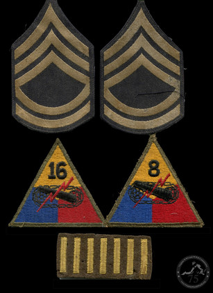 Daley, Robert A. - WWII Patches