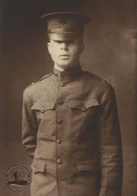 Johnston, Virginius - WWI Photo