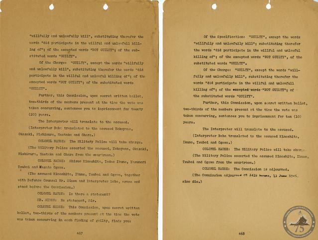 Manila War Crimes Trials - 5