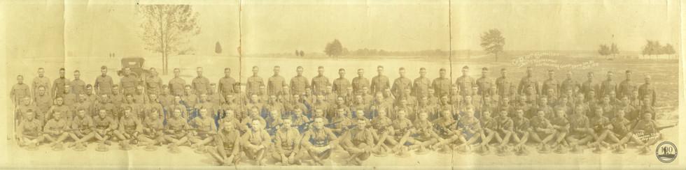 """D"" Co, 10th Batt. - WWI Photo"