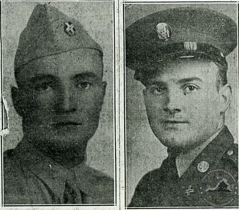 Allen, William & James - WWII Photo