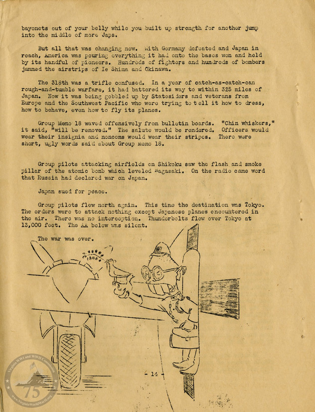 """Highlights from """"The History of the 318th Fighter Group"""" - Page 14"""