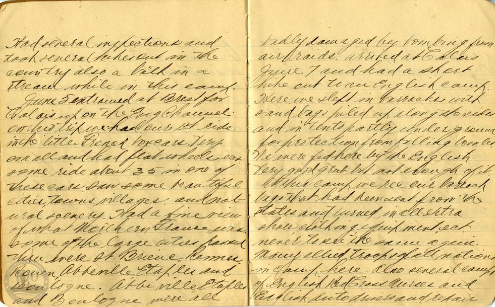 Life, Millard - WWI Diary #04