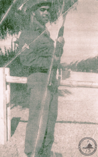 Lewis, Nathaniel - WWII Photo