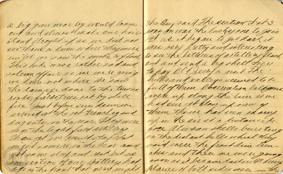 Life, Millard - WWI Diary #10
