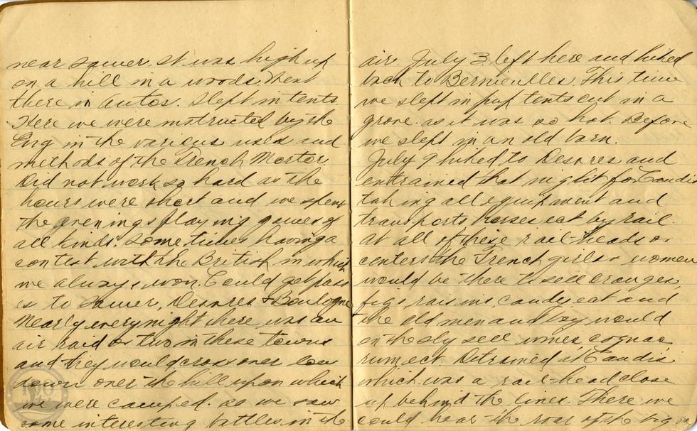 Life, Millard - WWI Diary #06