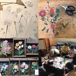 【ギャラリーOGU MAG】紙の花屋 workshop+ミニ展示 5/14-16
