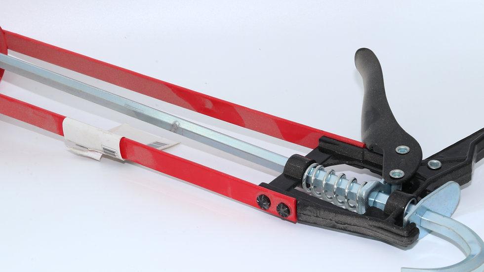 אקדח סיליקון מקצועי לתרמילים אדום וירט