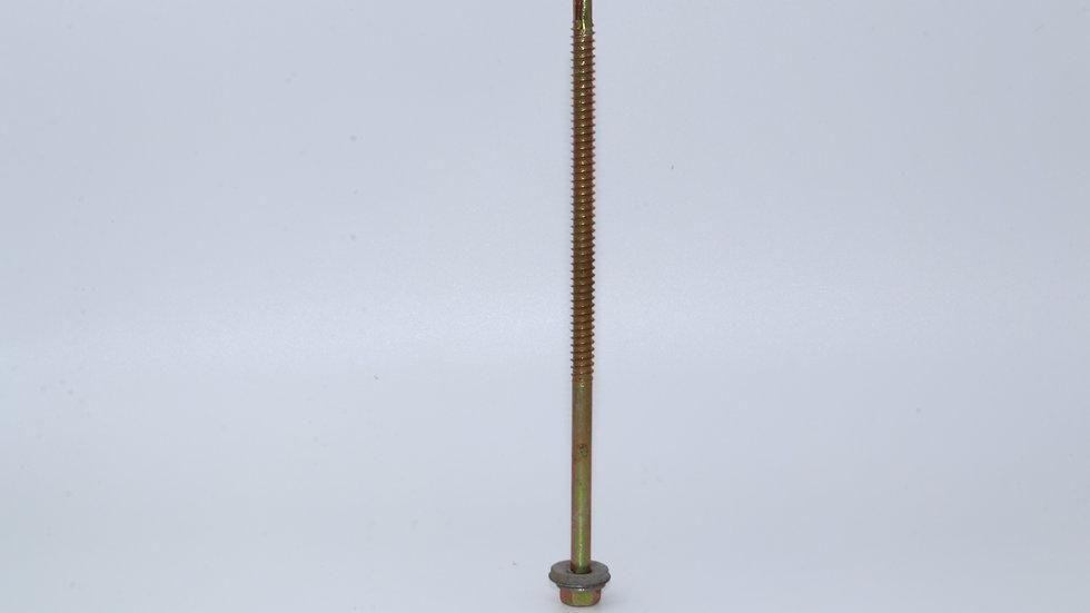 בורג איסכורית  צהוב קודח+אטם 6 לפי 100 יחידות