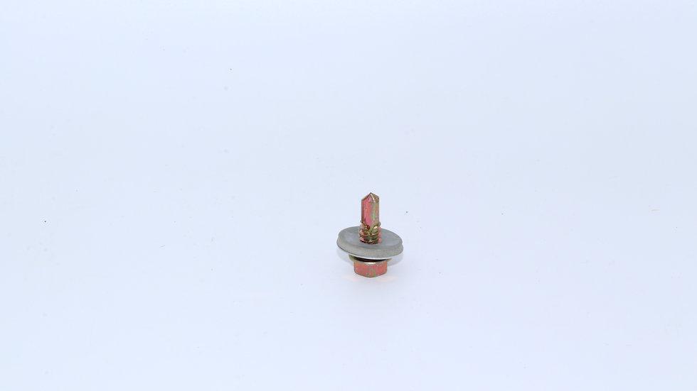 בורג איסכורית  צהוב קודח+אטם 3/4 לפי 600 יחידות