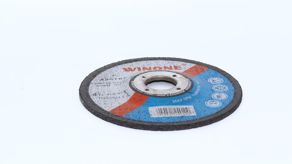 דיסק חיתוך לברזל ונירוסטה115*1.6 וירט