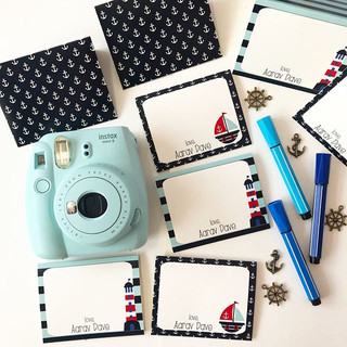 Nautical themed stationery to beat them