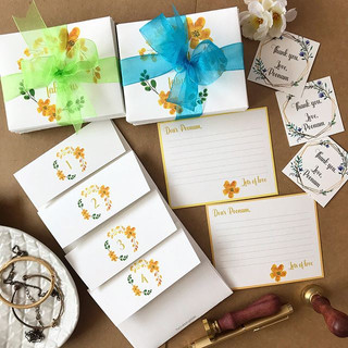 Personalised stationery always adding an