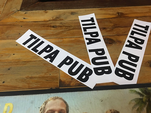 Tilpa Pub Sticker