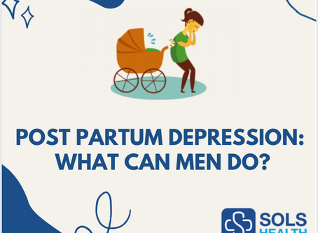 Postpartum Depression: What Can Men Do?