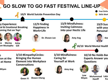 An Empowering Month-long 'Go Slow to Go Fast' Festival