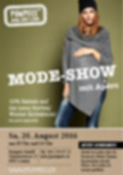 Mode-Show am 20. Aug. bei Pumpels