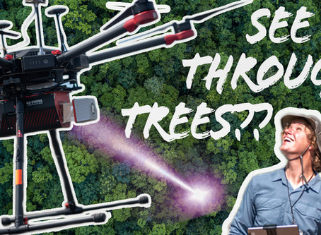 This Drone Sees Through Trees!